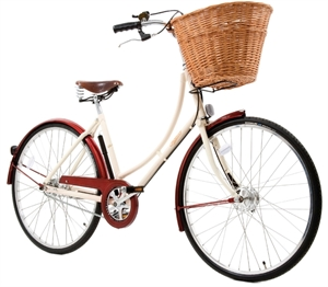 Pashley Sonet Pure Rød <BR>- 26&quot; 2015 Dame retro cykel