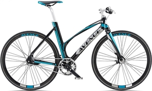 Avenue Broadway 7R Sort<BR> - 2017 Dame citybike cykel