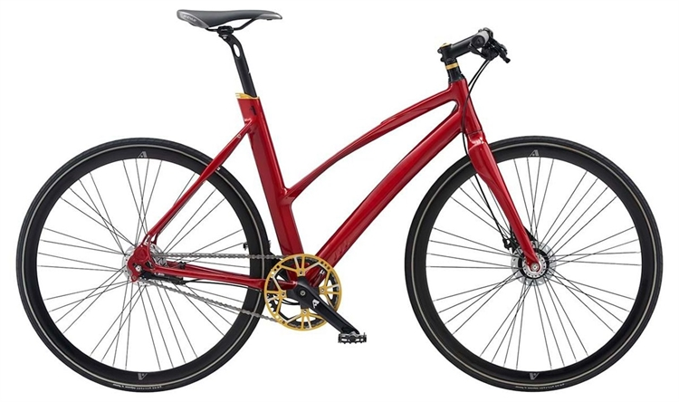 Avenue Broadway Spirit Red / Rød <BR>- 2018 Dame citybike SUPER-TILBUD