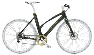 Avenue Broadway Shiny Green / Grøn <BR> - 2018 Dame citybike SUPER-TILBUD