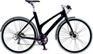 Avenue Airbase XtrOdinary 9R Sort<BR> - 2014 Dame sports cykel