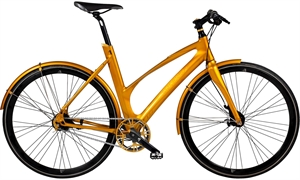 Avenue Broadway 25 Shiny Gold <BR>- 2020 Dame citybike cykel