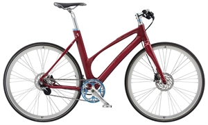 Avenue Broadway Cerise Red Shiny <BR>- 2020 Dame citybike cykel