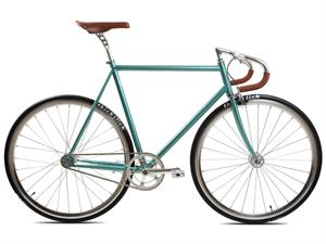 BLB City Classic Grøn<BR> - 2018 Herre Fixie / Single speed TILBUD
