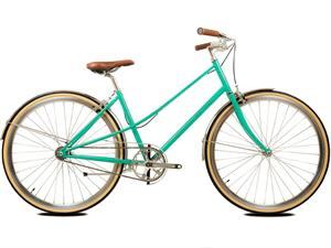 BLB Cleo Grøn<BR> - 2018 Dame Fixie / Single speed TILBUD