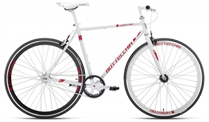 Bottecchia Fixie Hashtag Rød<BR> - 2017 Fixie / Single Speed cykel