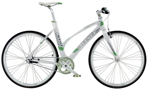 Avenue Broadway 7C Snowy White <BR>- 2016 Dame citybike SUPER-TILBUD