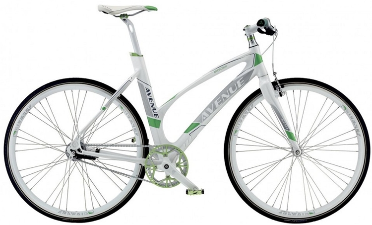 Avenue Broadway 7C Snowy White <BR>- 2016 Dame citybike cykel SUPER-TILBUD