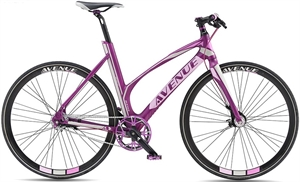Avenue Broadway Purple pink <BR> - 2017 Dame citybike SUPER-TILBUD