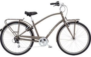 Electra Townie Commute 8D EQ Grå<BR>- 2018 Herre cruiser
