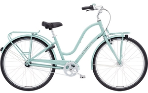 Electra Townie Commute 7i EQ Blå<BR>- 2018 Dame  cruiser