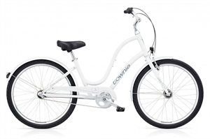 Electra Townie Original 3i Hvid<BR>- 2018 Dame citybike cykel