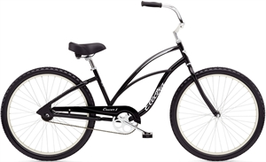 Electra Cruiser 1 Sort<BR> - 2018 26&quot; Dame single  cruiser