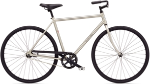 Electra Loft 1 Sølv<BR> - 2016 Herre single speed SUPER-TILBUD