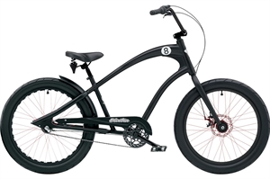 Electra Straight 8 8i Sort <BR>- 2019 Herre cruiser cykel