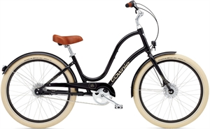 Electra Townie Balloon 8i EQ Sort<BR>- 2016 Dame citybike cykel SUPER-TILBUD