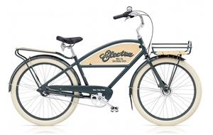 "Electra Delivery 3i Grå<BR> - 2018 26"" Herre cruiser cykel"