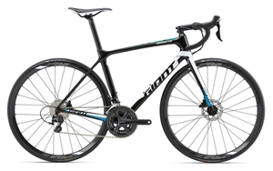 Giant TCR Advanced 2 Disc <BR>- 2018 Carbon racercykel TILBUD