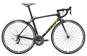 Giant TCR Advanced 3 <BR>- 2017 Carbon racer TILBUD