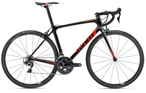 Giant TCR Advanced Pro 1 <BR>- 2018 Carbon racercykel TILBUD