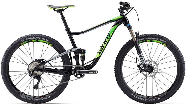 Giant Anthem 2 GE <BR> - 2017 27.5&quot; Fully MTB cykel TILBUD