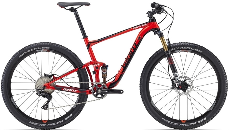 Giant Anthem 1 <BR> - 2016 27.5&quot; Fully MTB SUPER-TILBUD