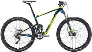 Giant Anthem SX 2 H-Disc<BR> - 2016 27.5&quot; Fully MTB SUPER-TILBUD