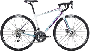 Giant/Liv Avail Advanced 3 - M/50 cm<BR>- 2016  Carbon dame racer SUPER-TILBUD