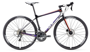 Giant/Liv Avail Advanced 3 <BR> - 2017 Carbon dame racer SUPER-TILBUD
