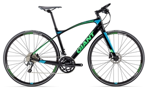 Giant FastRoad CoMax 2 - M/46 cm <BR>- 2017 Carbon sportscykel SUPER-TILBUD