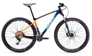 Giant XTC Advanced 29er 2 LTD <BR> - 2017 29&quot; Carbon MTB TILBUD