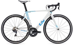 Giant Liv EnviLiv Advanced 1 <BR>- 2019 Dame carbon aero racer