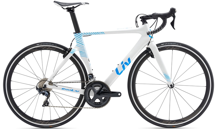 Giant Liv EnviLiv Advanced 1 <BR>- 2019 Dame carbon aero racer TILBUD