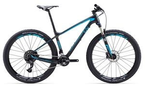 Giant Obsess Advanced 2 H-Disc <BR>- 2017 27.5 Dame carbon MTB cykel