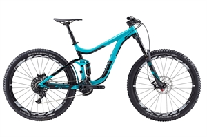Giant Reign 1 H-Disc<BR> - 2017 27.5&quot; Fully MTB Cykel SUPER-TILBUD