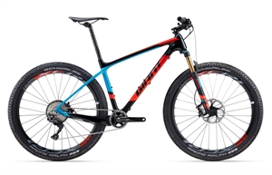 Giant XTC Advanced 1 <BR>- 2017 27.5&quot; Carbon MTB TILBUD