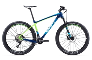 Giant XTC Advanced 2 <BR>- 2017 27.5&quot; Carbon MTB TILBUD