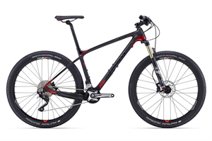 Giant XTC Advanced 2 <BR> - 2016 27.5&quot; Carbon MTB SUPER-TILBUD