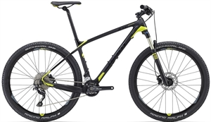 Giant XTC Advanced 3<BR> - 2016 27.5&quot; Carbon MTB SUPER-TILBUD