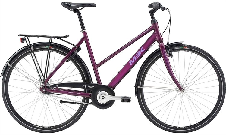 MBK Smogbuster 1 7C Blank Lilla <BR>- 2019 Dame citybike cykel TILBUD