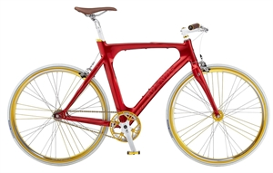 Avenue Madison Pista R�d <BR>- 2012 Single speed cykel SUPER-TILBUD