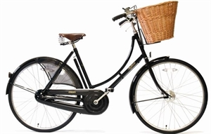 "Pashley Princess Classic  Sort <BR>- 26""/28"" Klassisk damecykel"