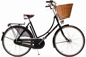"Pashley Princess Sovereign Sort <BR>- 26""/28"" Klassisk damecykel TILBUD"