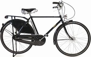Pashley Roadster Sovereign Sort<BR>- 28&quot; Herrecykel TILBUD