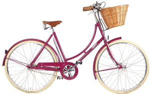 Pashley Ruby LTD Pink <BR>- 26&quot; Klassisk damecykel SUPER-TILBUD