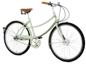 Pashley Penny Grøn<BR> - 26&quot; Dame citybike cykel TILBUD