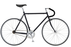Remington Copenhagen Arrow Sort <BR>- 2019 Fixie / Single speed cykel TILBUD