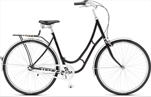 Remington Victoria Classic 3G Sort <BR>- 2019 Dame citybike cykel TILBUD