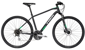 Trek  DS 2 Sort <BR>- 2018 Unisex sportscykel