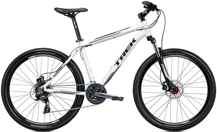 Trek 3700 Disc Hvid - 2015 26 MTB Cykel TILBUD